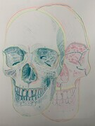 Untitled: Skull Drawing